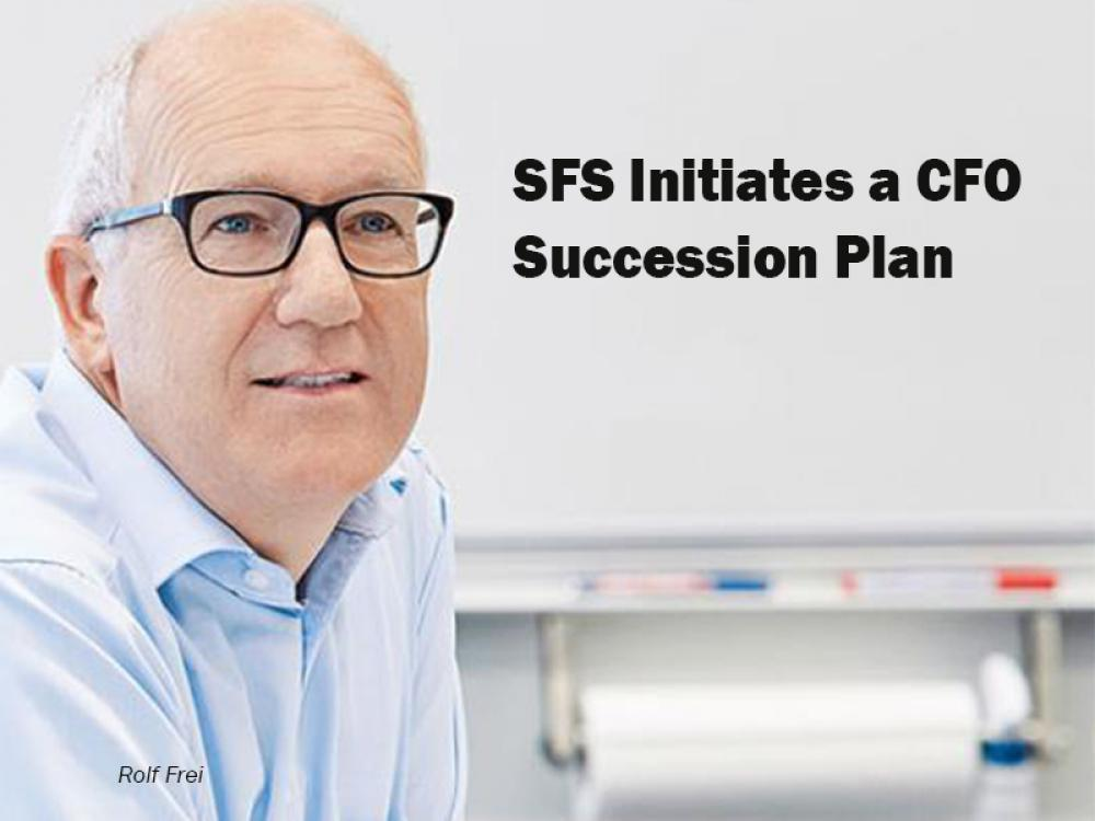SFS initiates a CFO succession plan
