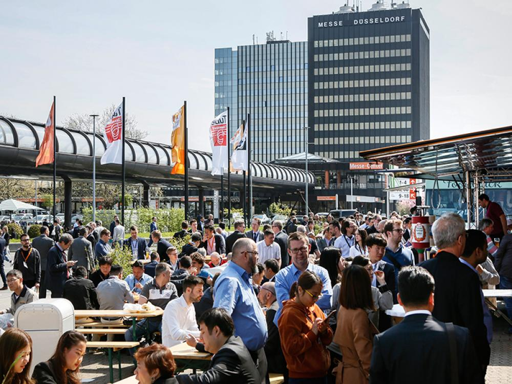 The world focuses on Düsseldorf: visitors from over 100 countries expected to attend wire and Tube in December