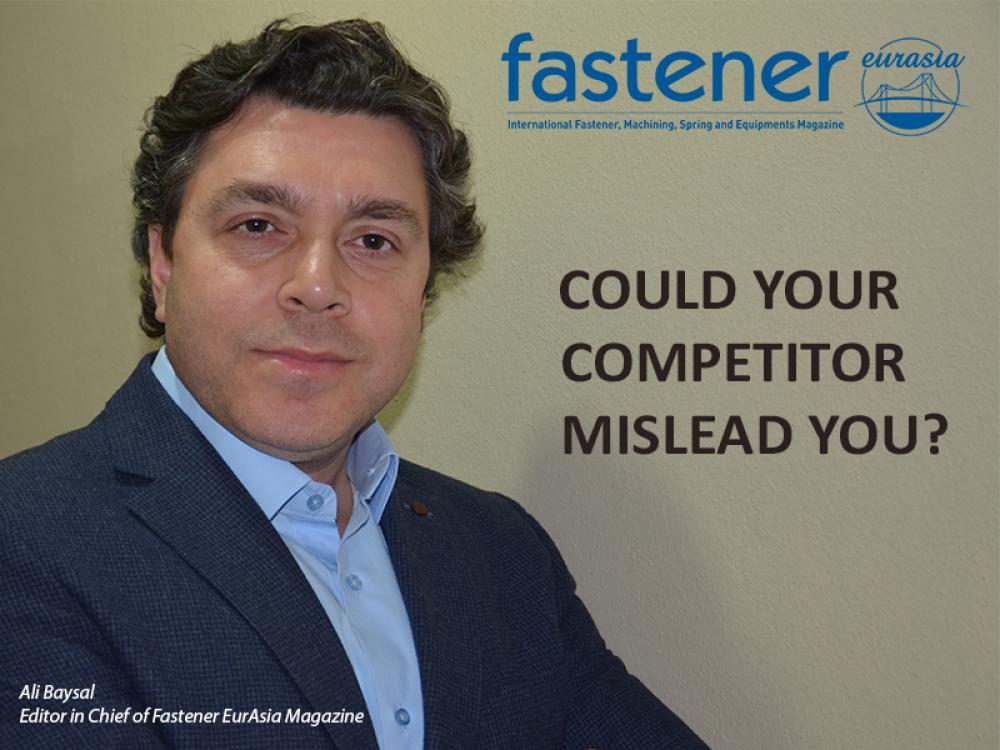 Could your competitor mislead you?