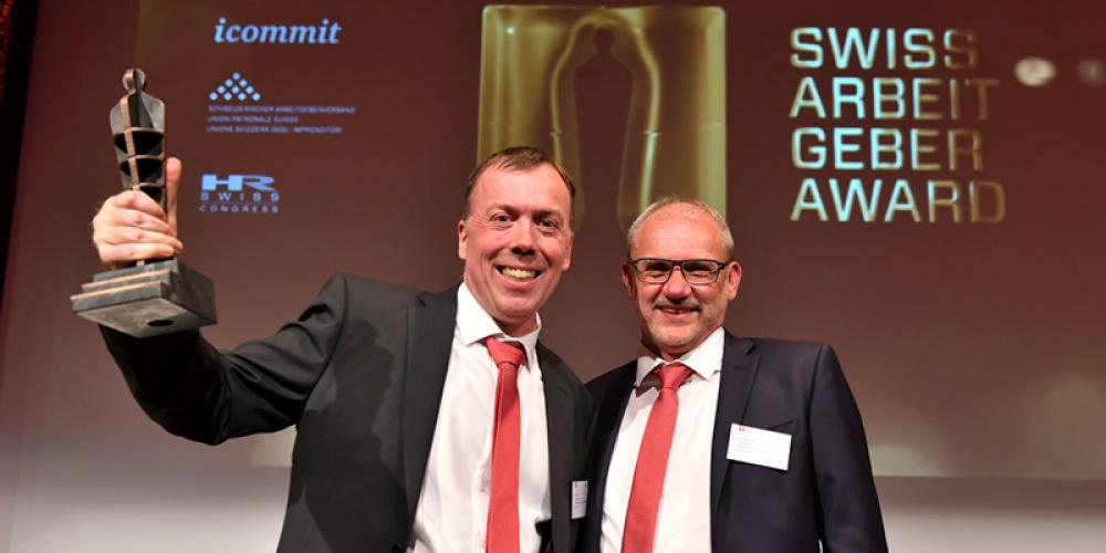 SFS achieves first-place ranking in the Swiss Employer Awards