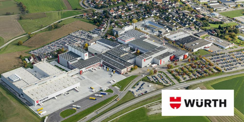 WÜRTH GROUP CONTINUES TO GROW