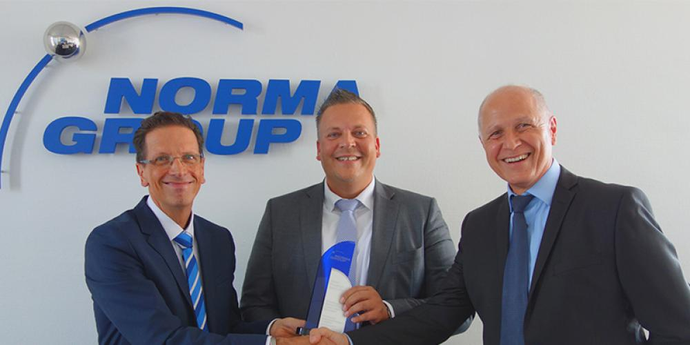 NORMA Group recognizes Thyssenkrupp as its best supplier in Europe