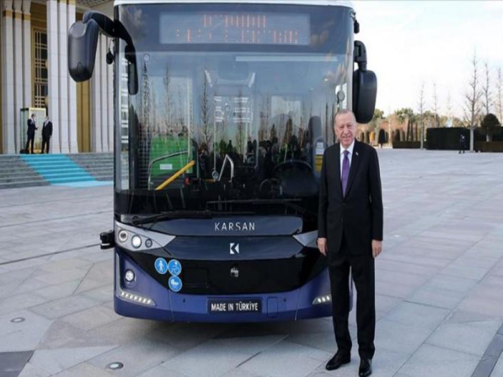 Turkey's 1st Autonomous Electric Bus