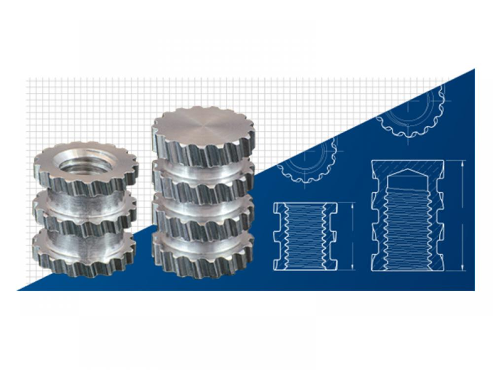 SPIROL Launches New Molded-In Aluminum Threaded Inserts for Plastics