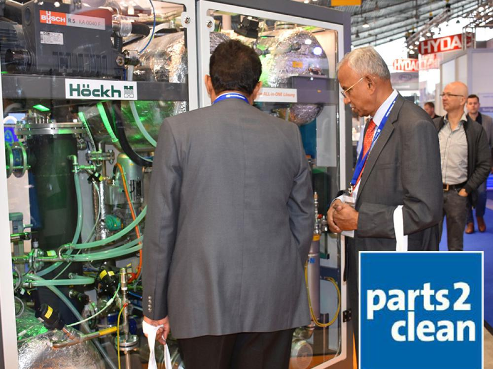 The international trade fair for industrial parts and surface cleaning