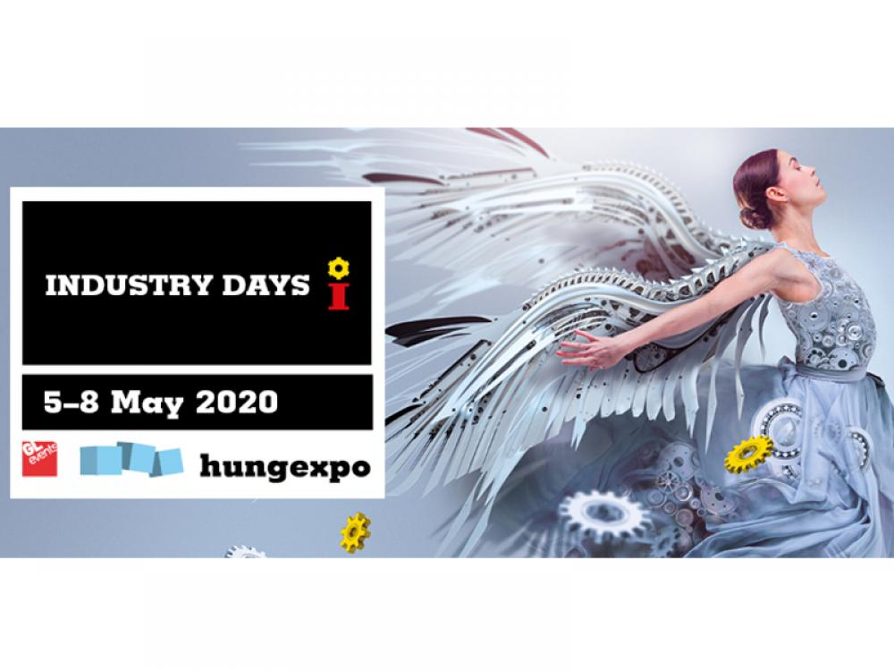 Hungary's most significant industrial business event, in May 2020 INDUSTRY DAYS come again